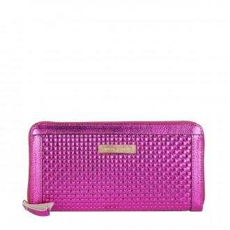 Zip Around Large Clutch Purse