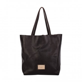 Twin Strap Tote With Inner Section