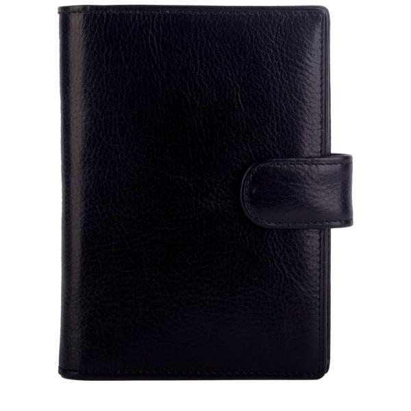 Clasp Fastening Passport Wallet