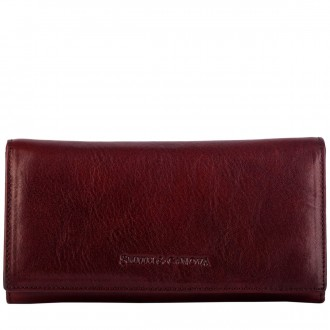 Zip Sectioned Flapover Ladies Notecase