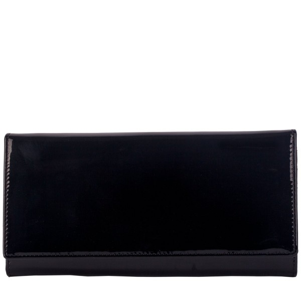 Genuine Leather Flap Over Purse