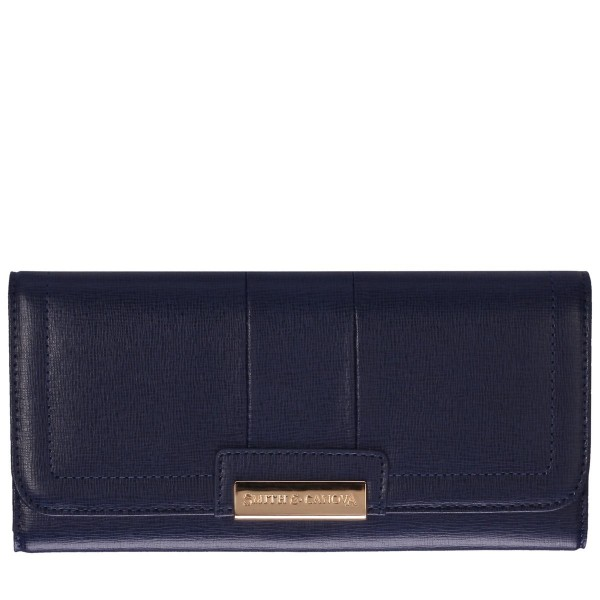 Saffiano Leather Flap Over Purse