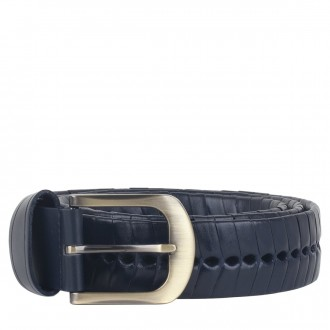Hanging - Woven Leather Belt