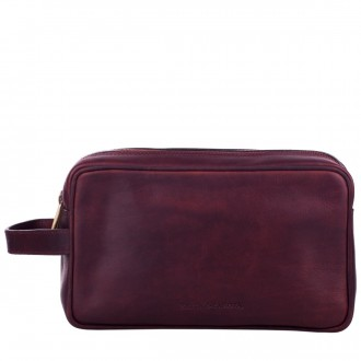 Double Zip Top Washbag