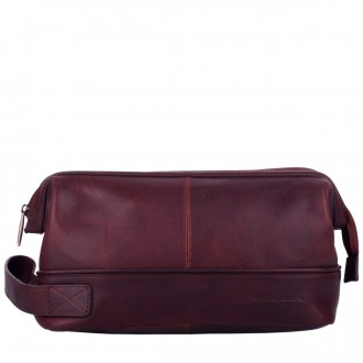 Zip Top Framed Washbag