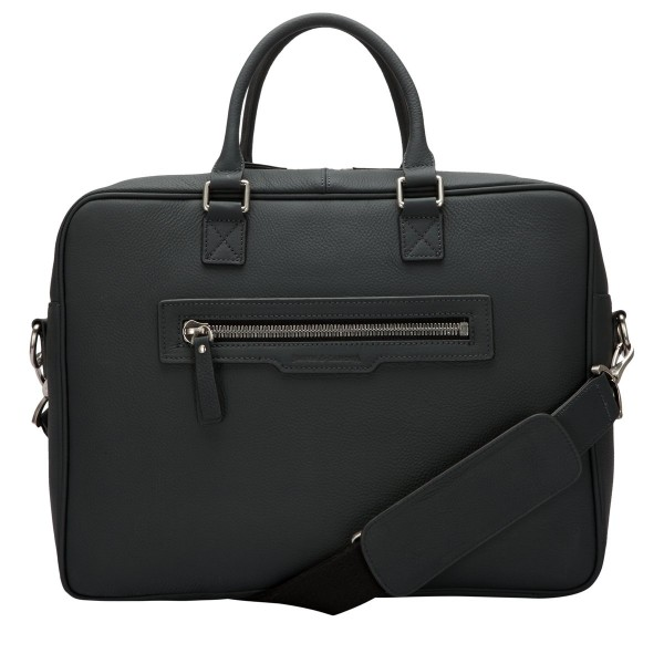 Oil Tanned Zip Around Briefcase