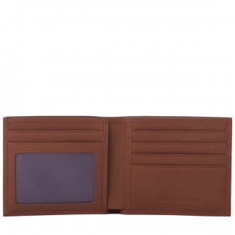 Gents Folding Grain Leather Wallet