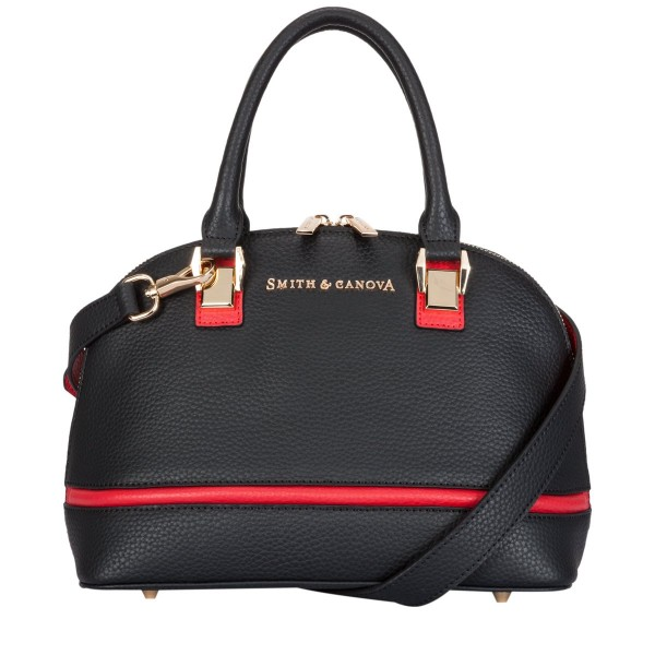Two-tone Leather Small Bugatti Bag