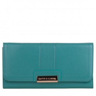 Long Flap Over Closing Purse