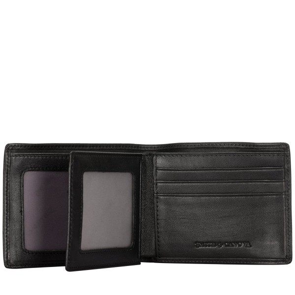 Bi-fold Wallet With Contrast Strap