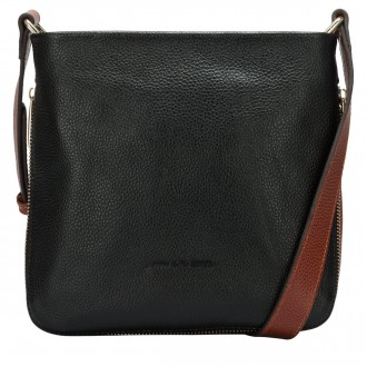 Zip Detailed Cross Body Bag