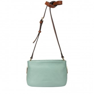Short Bodied Zip Detailed Cross Body Bag