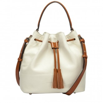 Zip Detailed Duffle Style Shoulder