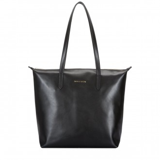 Twin Strap Zip Top Tote Bag