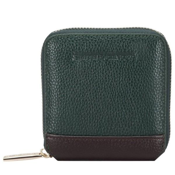 Small Square Zip Round Purse