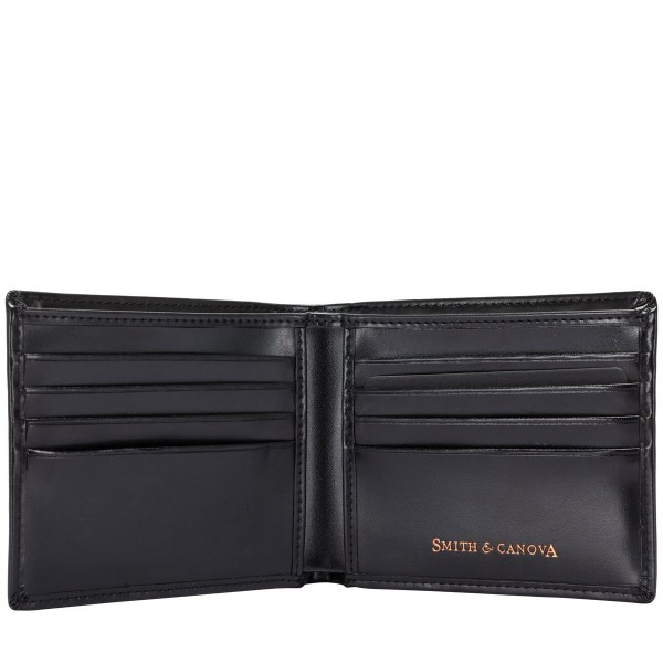 High Shine Leather Bi-fold Wallet