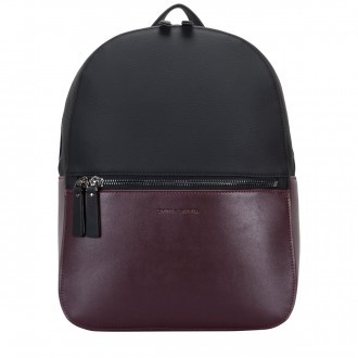 Zip Round Slot Pocket Backpack