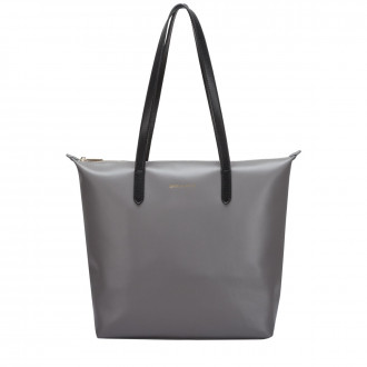Twin Strap Zip Top Tote Bag