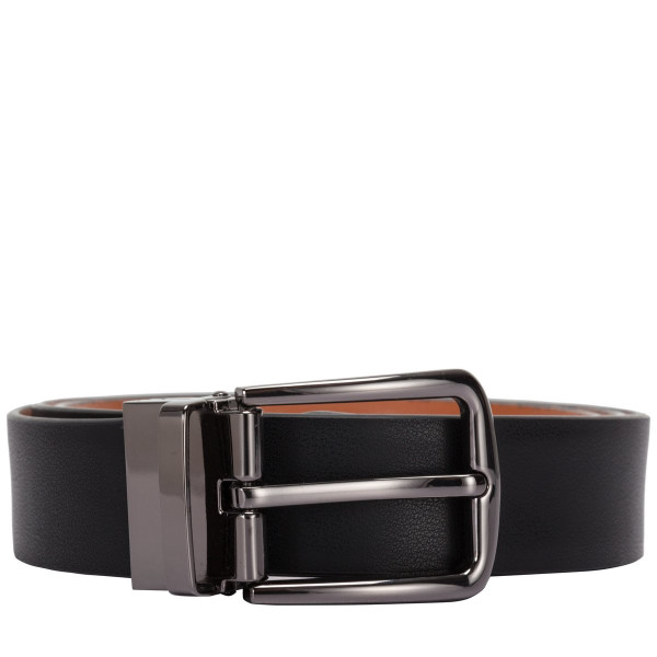 Two-tone Leather Reversible Belt
