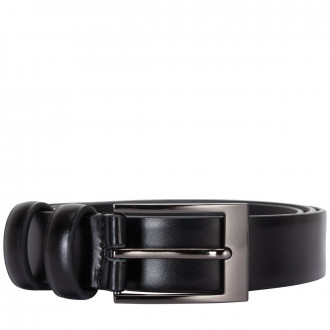 High Shine Leather Belt