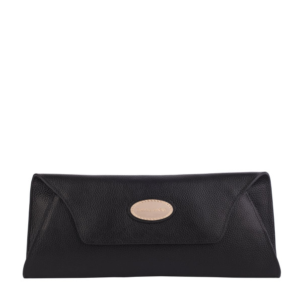 Genuine Leather Envelope Clutch Bag
