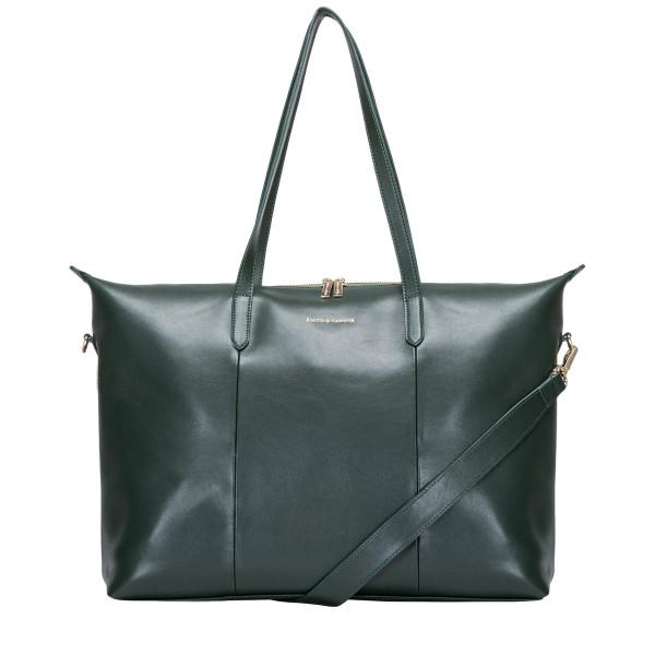 Large Smooth Leather Holdall