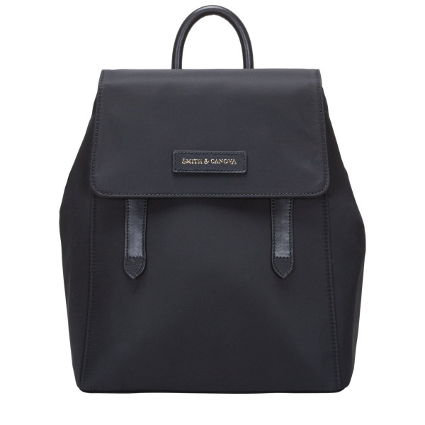Nylon Structured Backpack