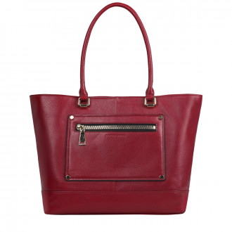 Twin Strap Tote Style Pocket Det. Bag