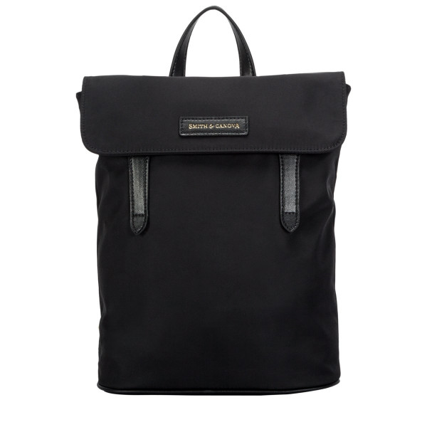 Nylon Flapover Backpack