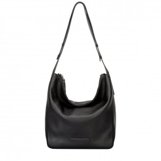 Qara Single Strap Slouch Shoulder in Black a67d8c51e8d96