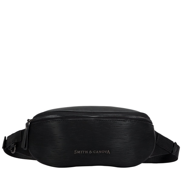 Embossed Leather Zip Around Bum Bag