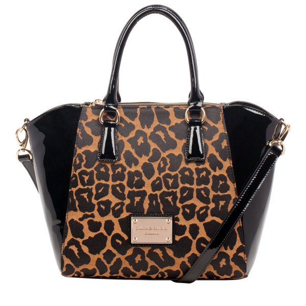 Twin Strap Triple Section Tote Style Bag