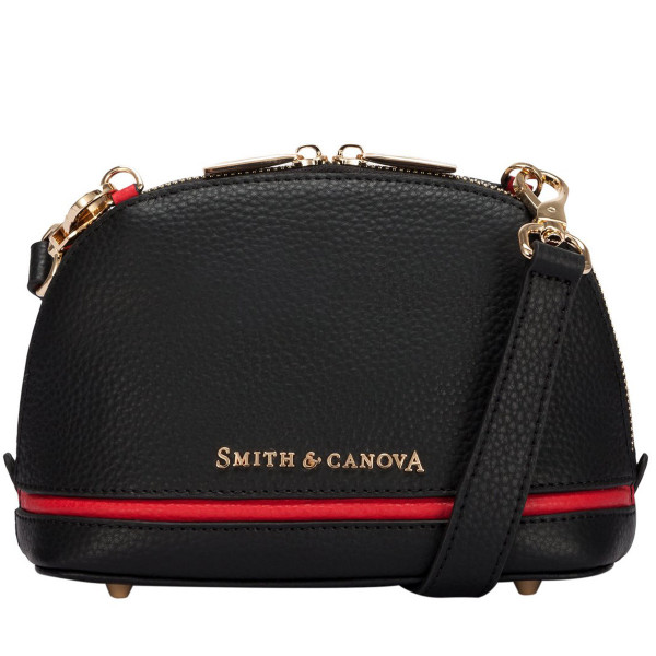 Two-tone Leather Baby Bugatti Bag