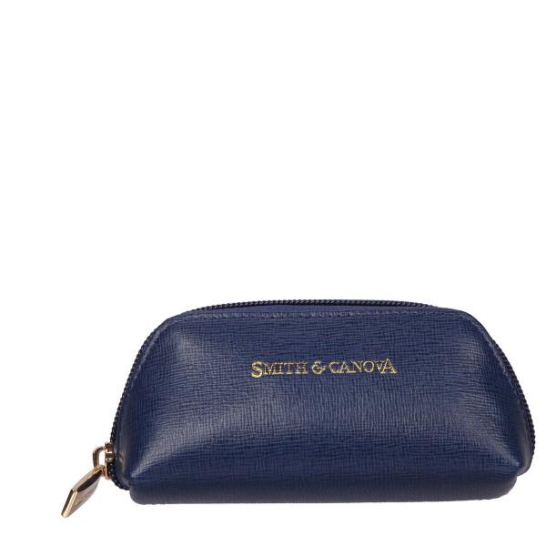 Saffiano Leather Zip Coin Purse
