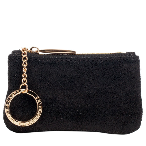 Metallic Effect Sml Purse With Keychain