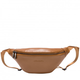 Smooth Leather Zip Around Bum Bag