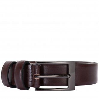 High Shine Leather Belt