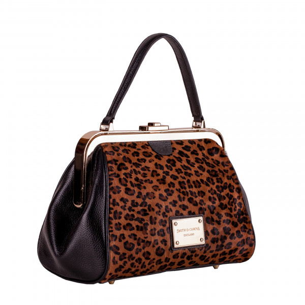 Single Strap Clasp Top Grab Bag