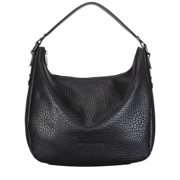Single Strap Zip Top Shoulder Bag